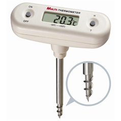 Corkscrew T-Bar Thermometer