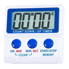 Digital Kitchen Timer - Count Up or Count Down