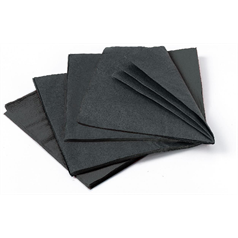 Cocktail Napkin Black 2 Ply