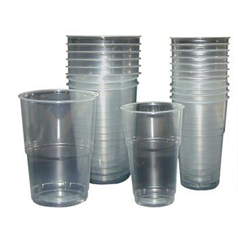 Flexiglass Cups 10oz Lined