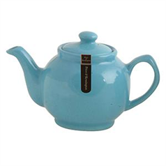 Brights Blue 6cup Tea Pot