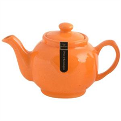 Brights Orange 10cup Tea Pot