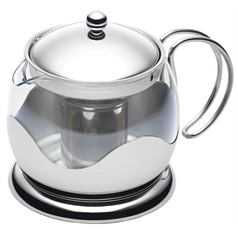 Glass 900ml Infuser Teapot