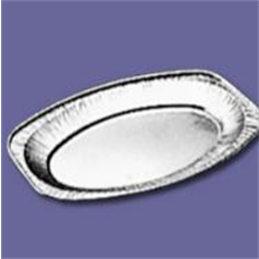 Alcan Foil Tray, Oval, 351x243mm