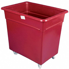 Maroon Bottle Skips/Trolleys 660 x 457 x 635mm