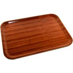 Rectangular Mahogany Tray 480x370mm