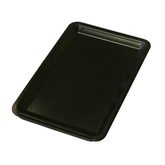 "Tip Tray Black 4.5""x 6.5"""
