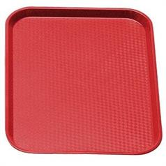 Red Fast Food Polypropylene Tray 300x410mm