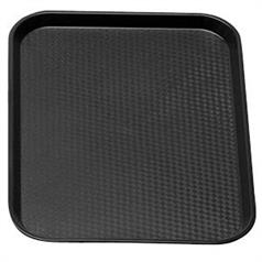 Black Fast Food Polypropylene Tray 300x410mm