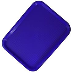 Fast Food Tray 14x18inch, Blue