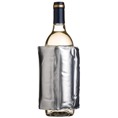Silver Wrap Around Wine Cooler