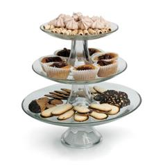 3 piece tiered cake stand