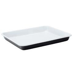 "Eagle Enamel Black Baking Tray 11"" (28cm)"