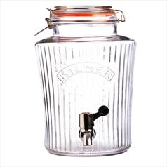 Kilner Vintage Drinks Dispenser, 8 litre