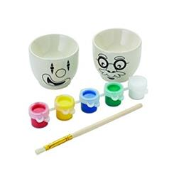 Let's Make Paint Your Own Egg Cups