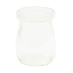 Single-Serve Glass Jars with Lids - 120ml Capacity