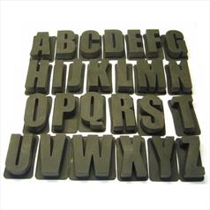 Letter A Silicone Cake Mould