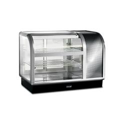 Lincat 650 Range Curved-Front Refrigerated Merchandiser - Back Service