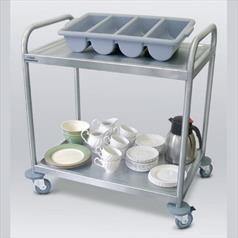 General Purpose S/S Trolley Two Tier 82x57x100cm