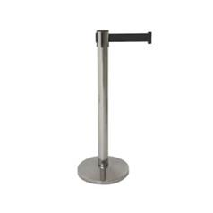 Bolero Retractable Barrier Black Strap